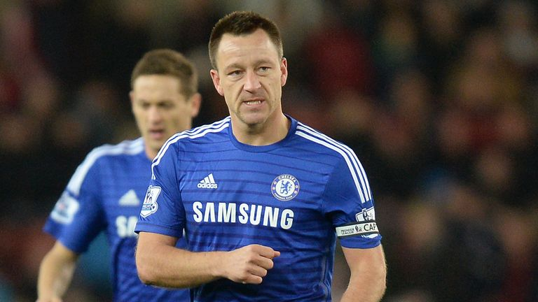 John Terry: Has played more than 600 games for Chelsea