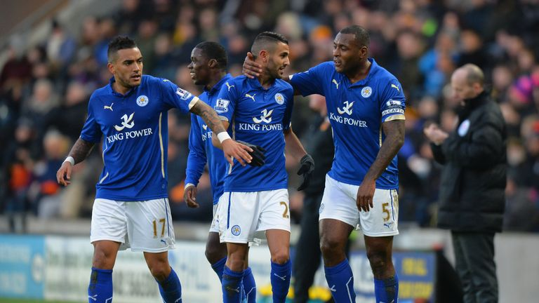 Leicester: Unfortunate not to win at Liverpool