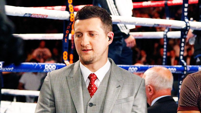 Carl Froch has not fought since defeating George Groves last May