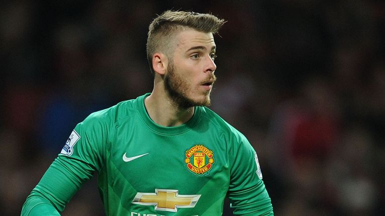 Highly rated United No. 1 De Gea