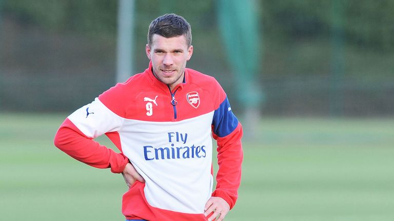 Lukas Podolski likely to remain at Arsenal next season