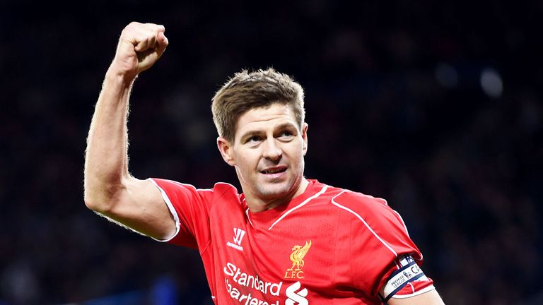Steven Gerrard: Thinking about his options