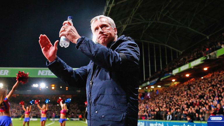 Pardew took Palace to the FA Cup final in May 2016 but was sacked in December
