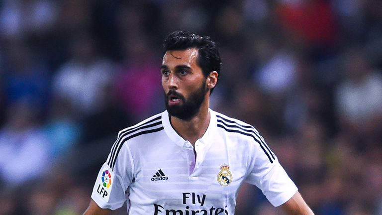 Alvaro Arbeloa left Real Madrid at the end of his contract in June