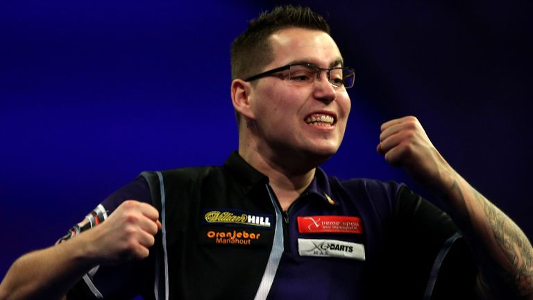 Benito van de Pas: The young Dutchman was bidding to win his first senior PDC title