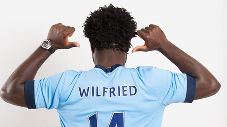 Man City's big-money buy Wilfried Bony