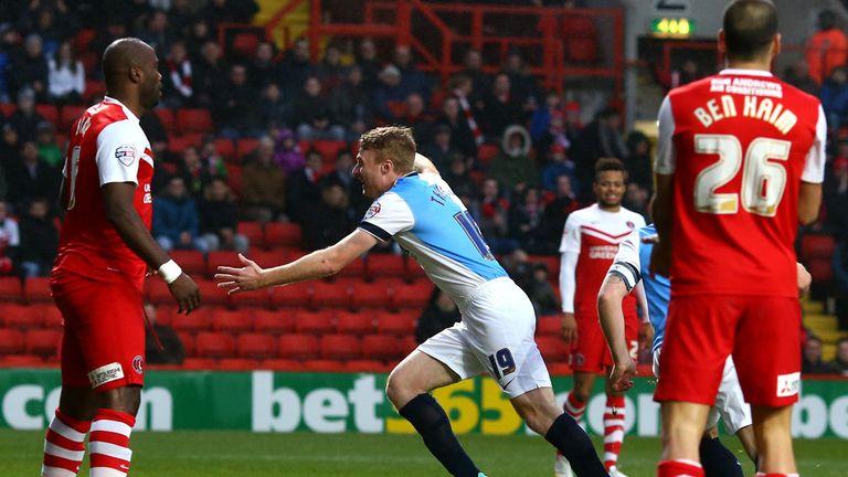 Chris Taylor: Celebrates Blackburn's opener