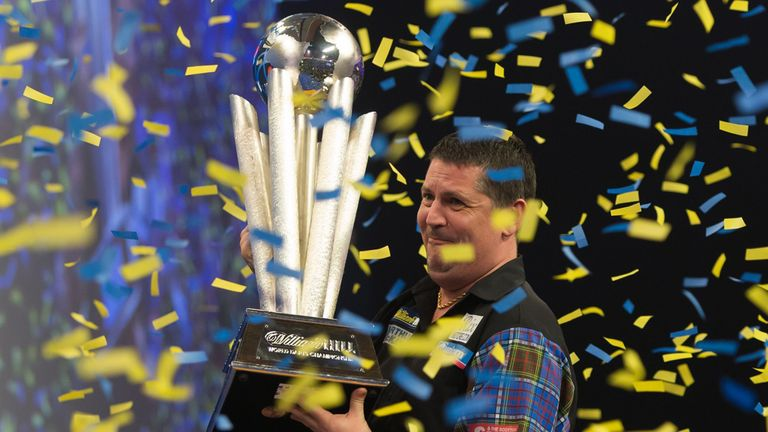 Gary Anderson is a two-time champion and will await the winner of a preliminary round match before finding out his first-round opponent