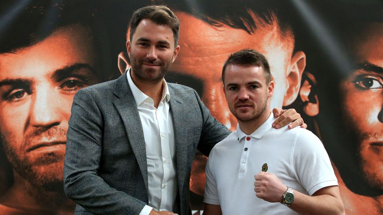 Eddie Hearn and Frankie Gavin: Big-time boxing back in Birmingham