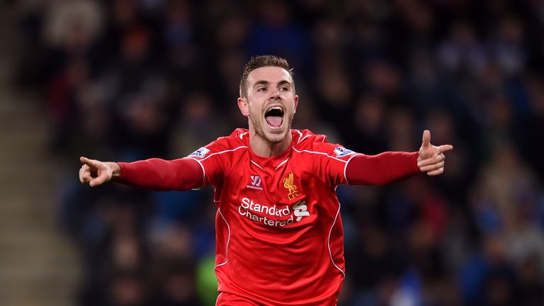 Jordan Henderson: Touted by some as the natural heir to Steven Gerrard for Liverpool and England