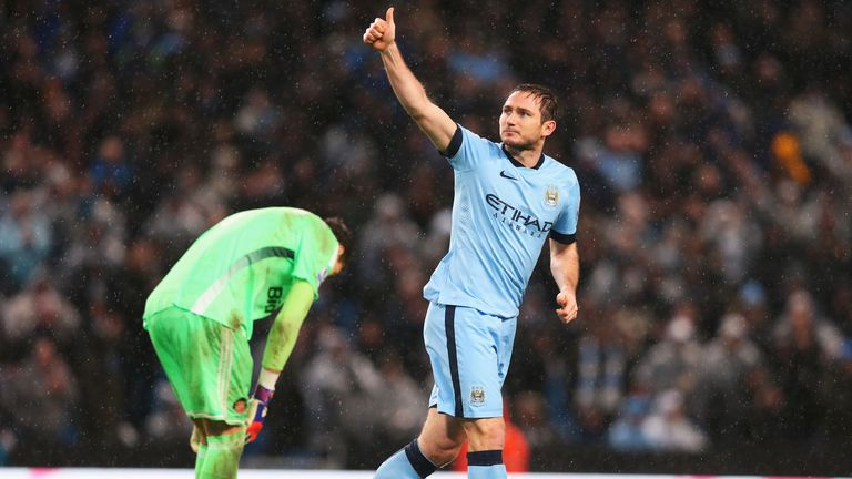 Frank Lampard: Scored the winning goal of a dramatic game