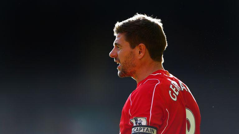 Steven Gerrard: Will wear the number eight shirt at LA Galaxy