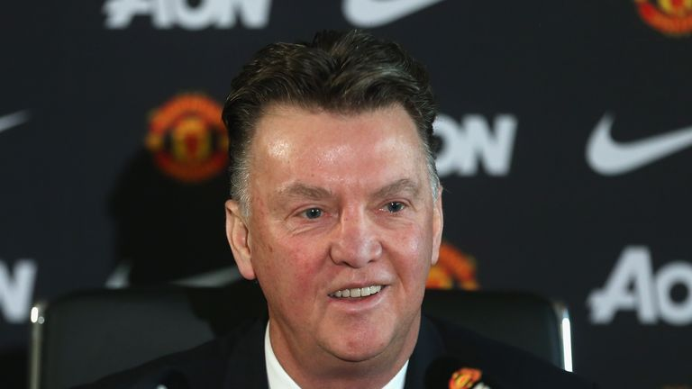 Will Louis van Gaal be smiling after the clash with Burnley?