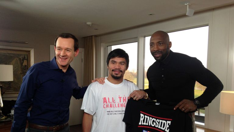 Manny Pacquiao Ringside Special: 10.15, Sky Sports 1, Wednesday