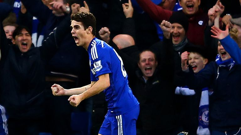 Oscar: Missed Chelsea's title-clinching win over Crystal Palace