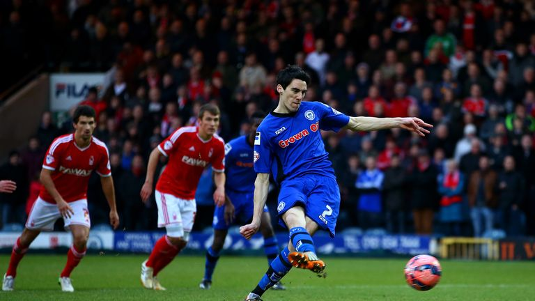 Peter Vincenti: Penalty proved the difference for Rochdale