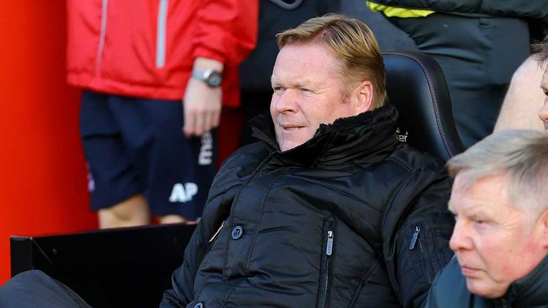 Ronald Koeman: Southampton manager happy on south coast