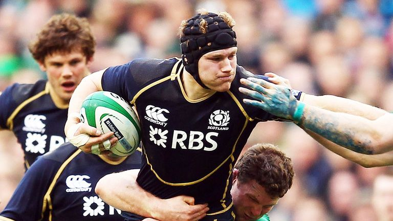 Ross Rennie: Bristol Rugby and Scotland flanker has retired