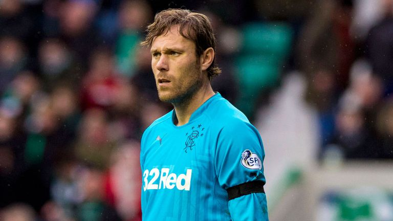 Steve Simonsen: Rangers goalkeeper charged by SFA