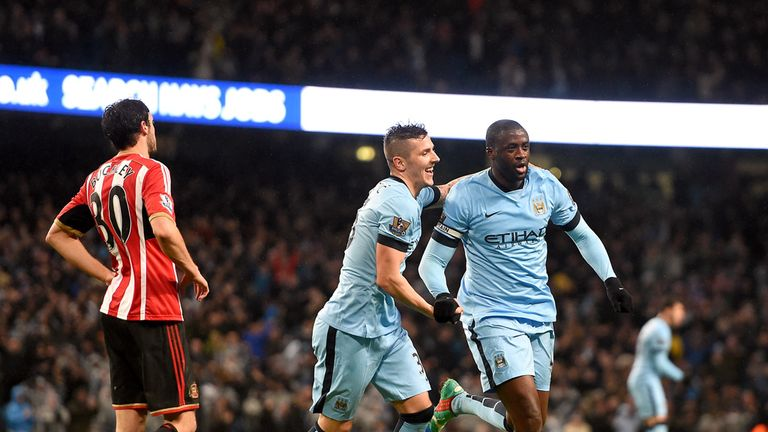 Yaya Toure: Opened the scoring for Manchester City