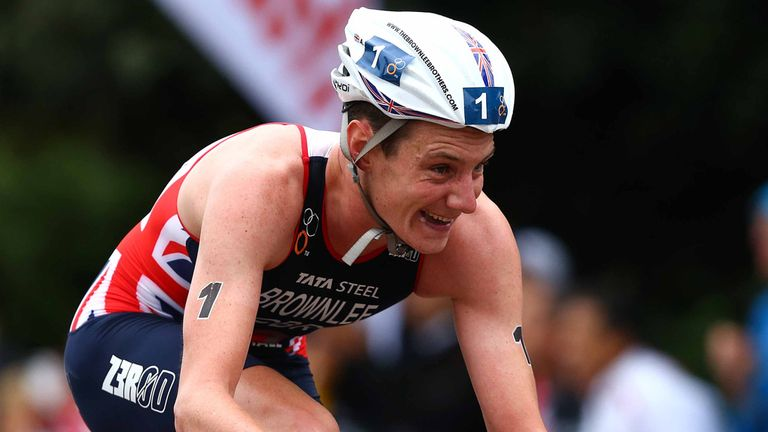 Brownlee won his debut full 'Ironman' in Ireland in June