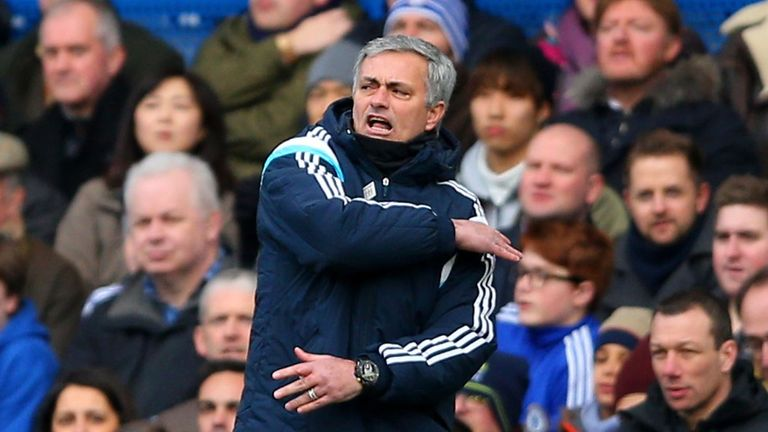 Jose Mourinho: Chelsea gap cut to five points following draw against Burnley