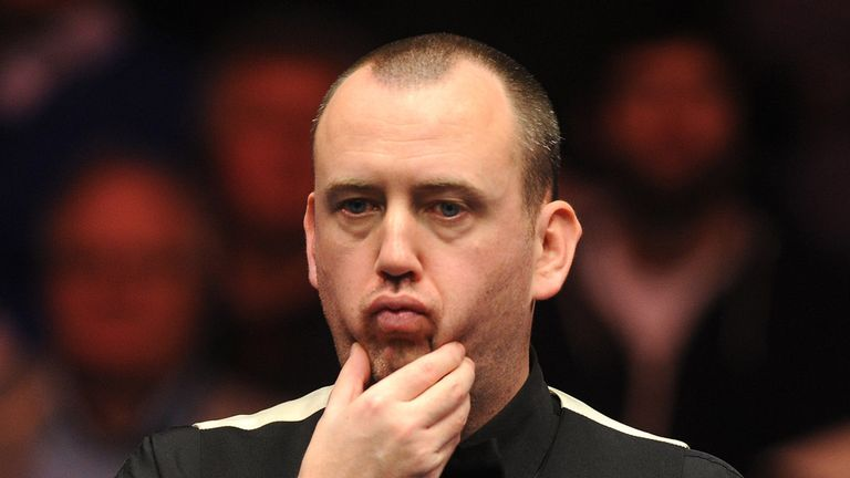 Dual former winner Mark Williams will not be at the Crucible