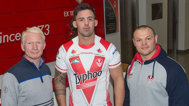 Matthew Haggarty joined Saints in February & will turn out for Salford in 2016