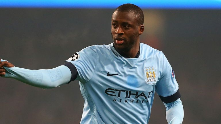 Yaya Toure: Set to stay at Manchester City