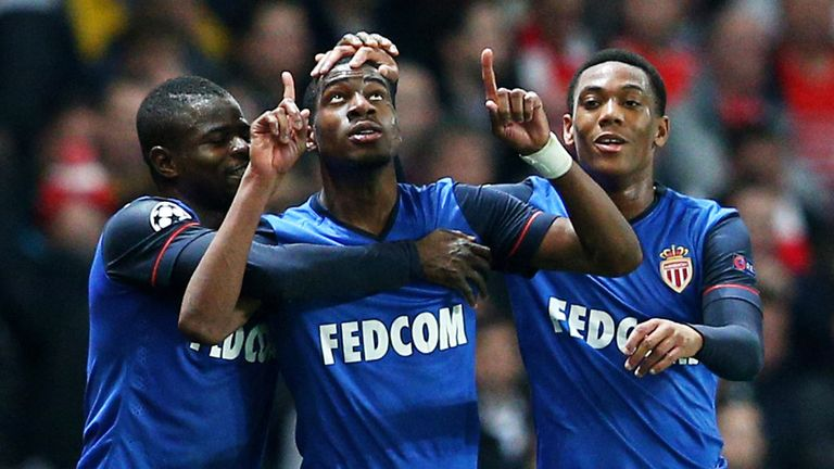Kondogbia made his name at Monaco alongside Anthony Martial