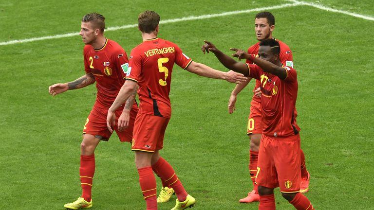 Jan Vertonghen and Eden Hazard are international team-mates but opponents on Sunday
