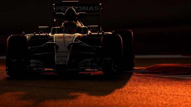 Pascal Wehrlein (GER) Mercedes AMG F1 W07 at Formula One Testing, Day One, Barcelona, Spain, 19 February 2015