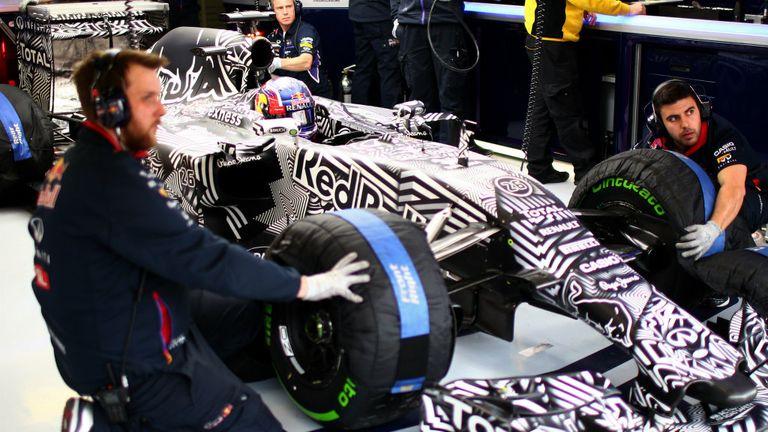 Pretty solid: Daniil Kvyat during pre-season testing