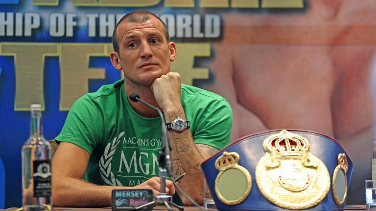 Derry Mathews: Still hopeful of fighting for world title this month
