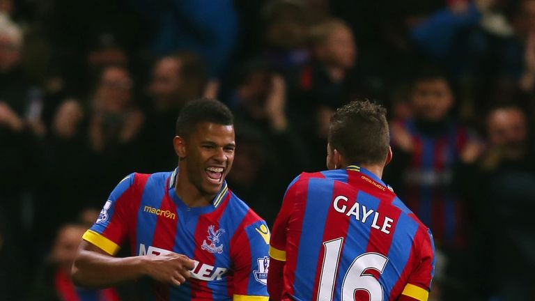 Fraizer Campbell (L): Scored the opening goal for Palace after 15 minutes