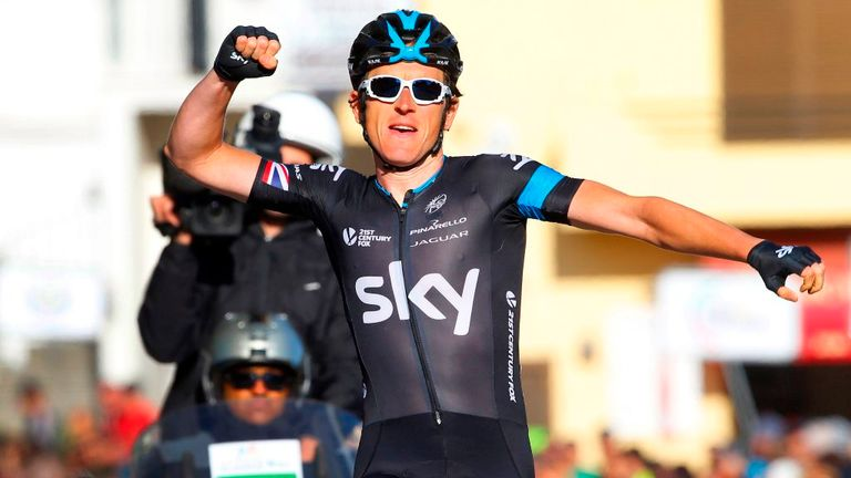 Geraint Thomas has taken a healthy overall lead of the race