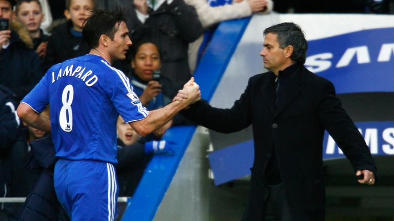 Derby boss Lampard: Mourinho congratulated me before penalties