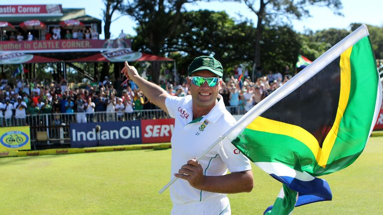 Jacques Kallis bids farewell as he retires from Tests in 2013. He bowed out of ODIs a year later