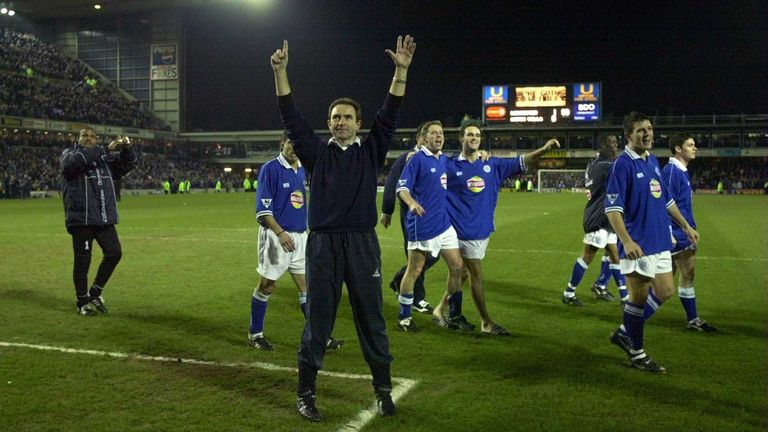 Martin O'Neill won the League Cup twice with Leicester