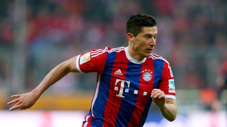 Robert Lewandowski: Left on Bayern's bench on Tuesday