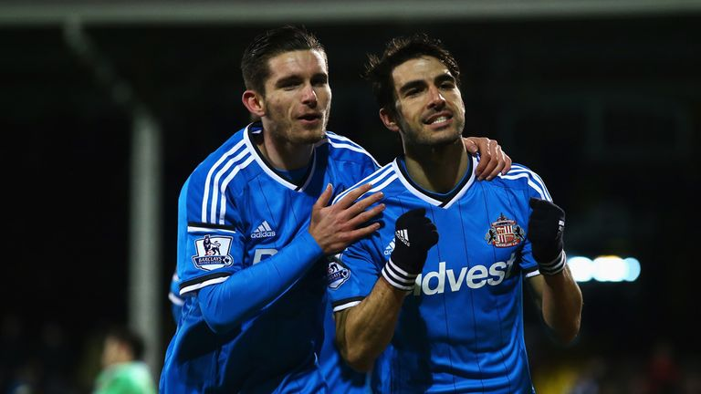 Jordi Gomez celebrates penalty