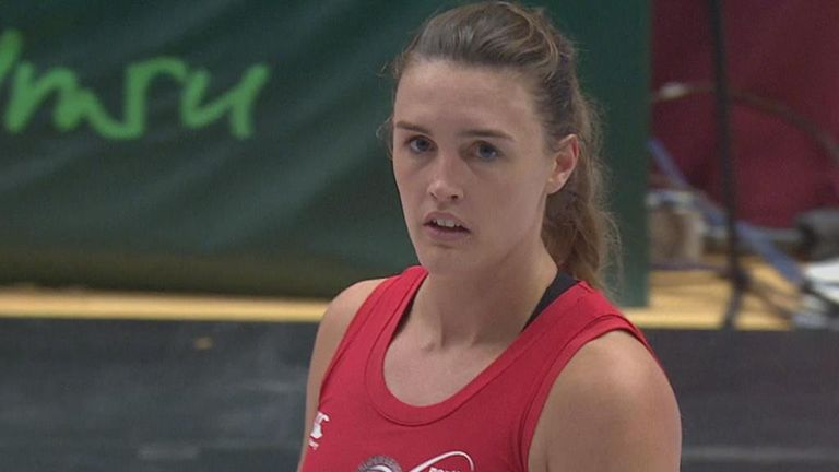 Team Northumbria's Nicole Styles was player of the match in their win over Celtic Dragons