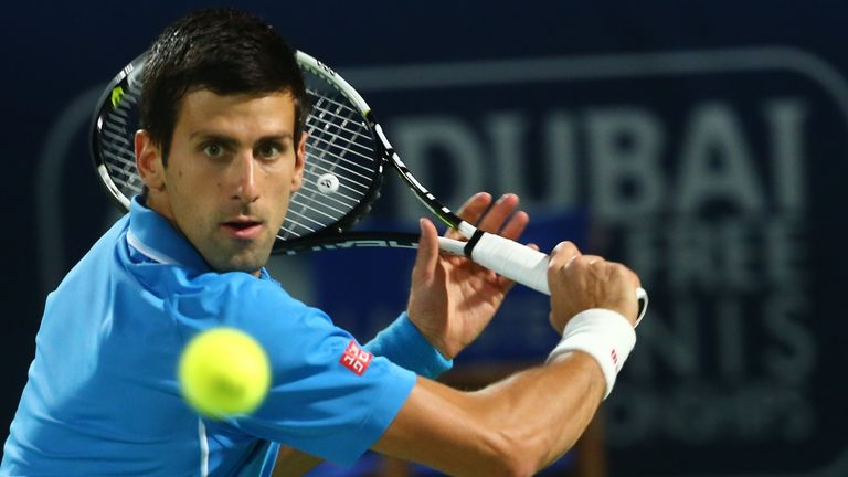 Novak Djokovic: Secured victory in under an hour