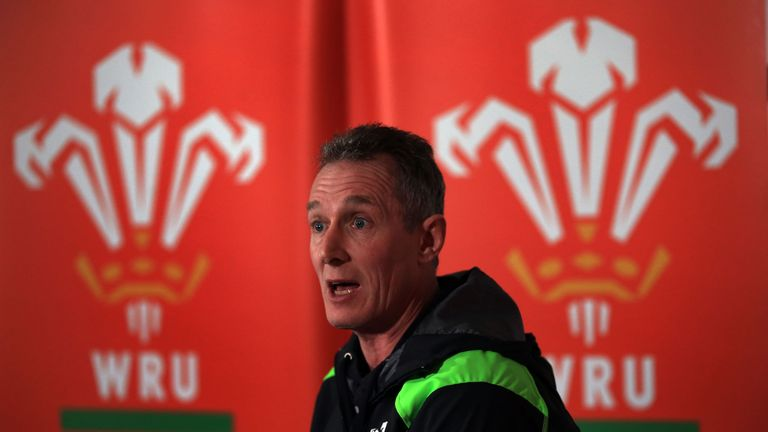 Rob Howley is glad to have Matt Sherratt joining his coaching staff