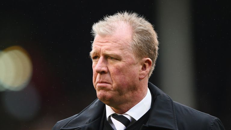 Steve McClaren: Pleased to come away with draw