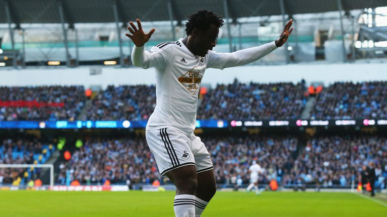 Wilfried Bony proved to be an instant success with the Welsh club