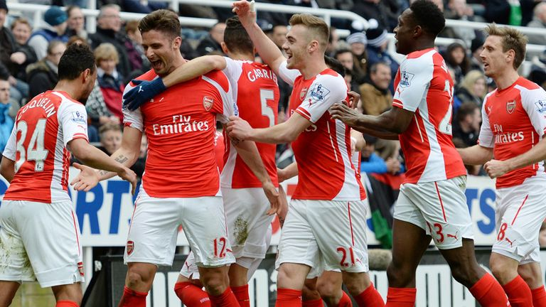 Arsenal host Liverpool at 12.45 on Saturday