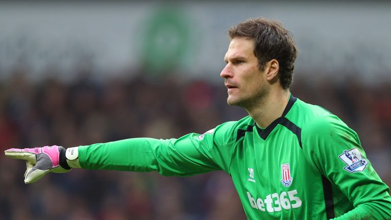 Asmir Begovic: Is understood to desire a move away from Stoke this summer