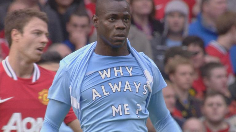 Why Always Me? Who could forget this epic celebration