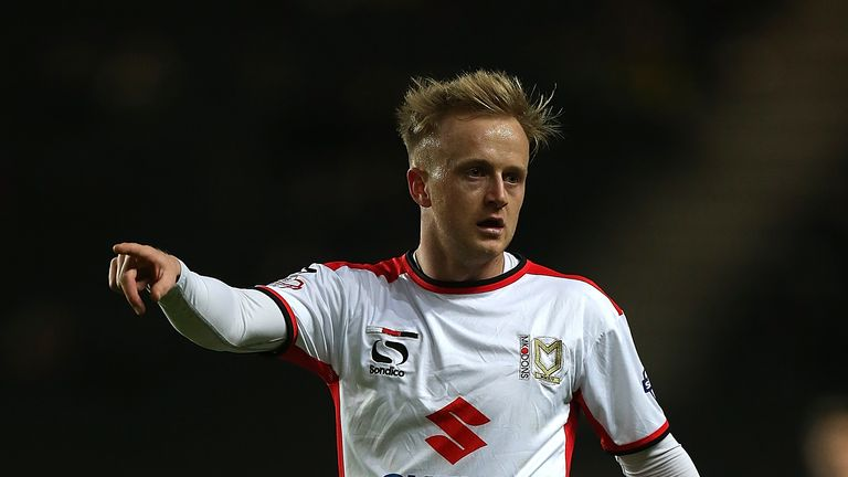 Ben Reeves delighted to extend his stay at MK Dons
